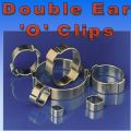'O' Clips Double 2 Ear Clamps